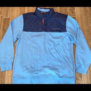 Men VINEYARD VINES Performance Quilt Shep Shirt XL